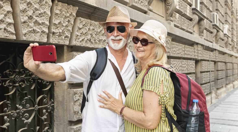 para seniorów turystów
