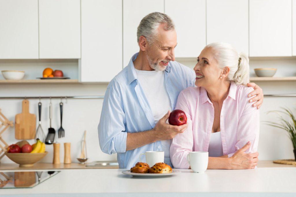 para seniorów w kuchni